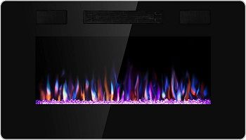 Best 10 Wall Mounted Electric Fireplaces To Buy In 2020 Reviews