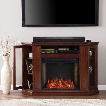 Best 5 Cherry Wood Electric Fireplaces, 62 Grand Cherry Electric Fireplace Reviews