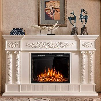 36 Inch Electric Fireplaces Inserts, 62 Grand Cherry Electric Fireplace Reviews
