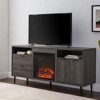 5 Top 65 Inch Tv Stand With Electric Fireplace In 2021 Reviews